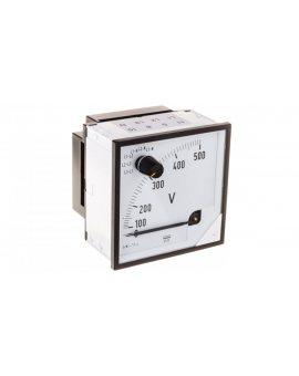 Woltomierz z przełącznikiem N E615 500V pozycja pracy C3 K=90 st. bez atestu KJ EP29NE6150000