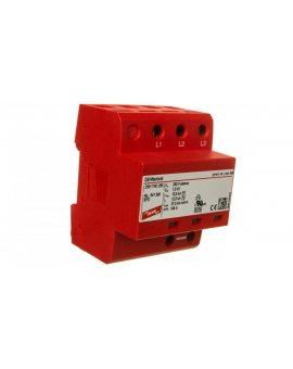 Ogranicznik przepięć B+C Typ 1+2 3P 12, 5/37, 5kA 1, 5kV DEHNshield TNC 255 941300