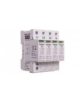 Ogranicznik przepięć C Typ 2 3P+N 20kA 1, 3kV KSD-T2 275/160 3P+N 23133