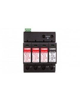 Ogranicznik przepięć B+C Typ 1+2 4P 12, 5kA 1, 2kV 335V VAL-MS-T1/T2 335/12.5/3+1-FM 2800183