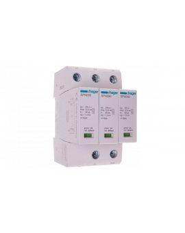 Ogranicznik przepięć B+C Typ 1+2 3P 12, 5kA 275V 1, 5kV SPN900