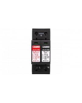 Ogranicznik przepięć B+C Typ T1+T2 12, 5kA 1, 2kV 240V AC VAL-MS-T1/T2 335/12.5/1+1 2800187