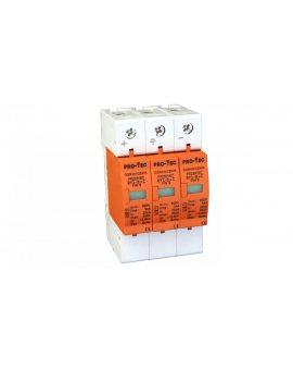Warystorowy ogranicznik przepięć do instalacji fotowoltaicznych (typu 1+2) BY1-B+C/3 FW 10 3234030