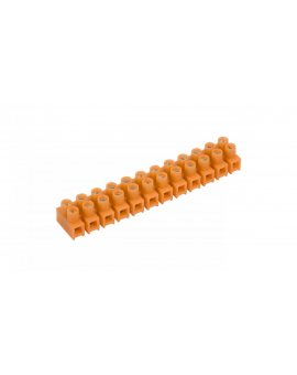 Listwa zaciskowa gwintowa 12-torowa 2.5mm2 pomarańczowa LTF 12-2.5 21210108