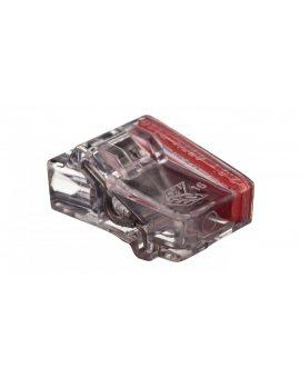 Szybkozłączka 2x1, 5-2, 5mm2 transparentna PC2252-CL 89021000 /100szt./