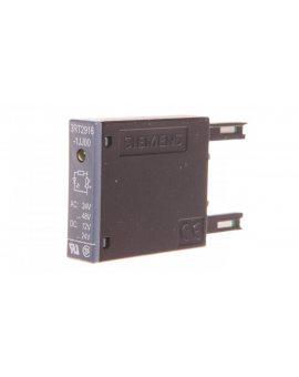 Układ tłumiący warystor 48-487V AC 12-24V DC ze wkaźnikiem LED S00 3RT2916-1JJ00