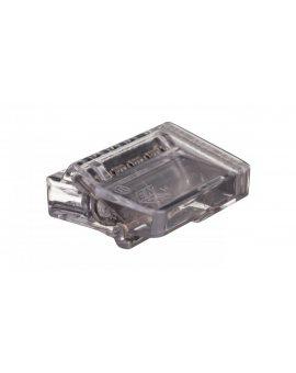 Szybkozłączka 5x1, 5-2, 5mm2 transparentna PC2255-CL 89024000 /100szt./