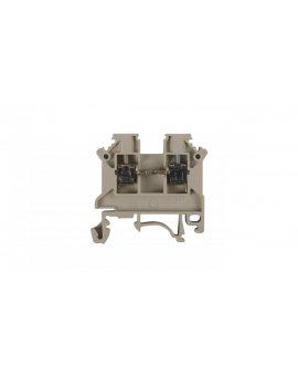 Złączka szynowa 2-przewodowa 2, 5mm2 szara NOWA ZSG 1-2.5Ns 11221312