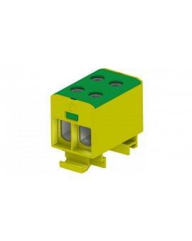 Złączka szyn gwint rozgał AL/CU 1, 5-50mm2 TS35 1-tor 4-otw zac OTL50-2 żółto-ziel MAA2050Y10 89732009