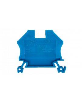 Złączka szynowa gwintowa ZSG ( ZUG ) 6, 0mm2 niebieska mini 43407BL