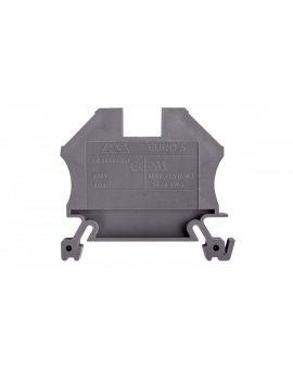Złączka szynowa gwintowa ZSG ( ZUG ) 6, 0mm2 szara mini 43407