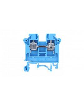 Złączka szynowa 2-przewodowa 6mm2 niebieska NOWA ZSG 1-6.0Nn 11421313