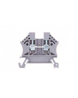 Złączka szynowa 2-przewodowa 2, 5mm2 szara EURO 43408