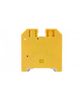 Złączka szynowa ochronna 16mm2 zielono-żółta ZSO1-16.0 14603319
