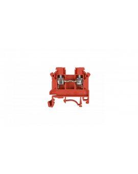 Złączka szynowa 2-przewodowa 4mm2 czerwona NOWA ZSG1-4.0Nc 11321311