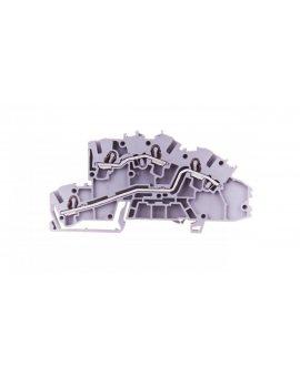 Złączka szynowa 2-piętrowa 2, 5mm2 L/L szara 2003-7642 TOPJOBS