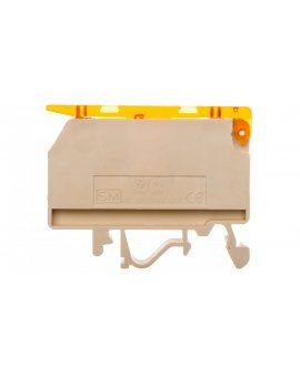 Złączka szynowa bezpiecznikowa 4mm2 6, 3A G 5x20mm VSV 4 003901360