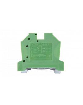 Złączka szynowa gwintowa ochronna ZSO 10mm2 żółto-zielony 43458
