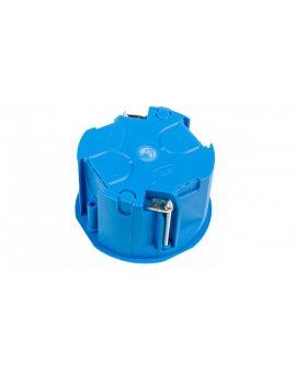 Puszka podtynkowa 60mm regips płytka niebieska PV 60K samogasnąca bezhalogenowa 32017203 /60szt./