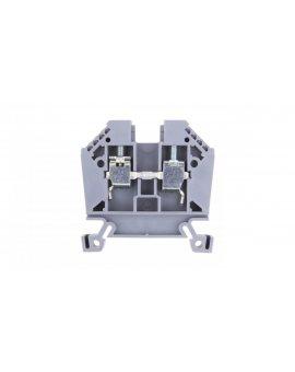 Złączka szynowa 2-przewodowa 10mm2 szara EURO 43402