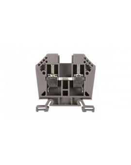Złączka szynowa 2-przewodowa 16/25mm2 szara EURO 43403