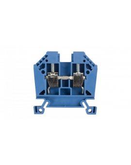 Złączka szynowa 2-przewodowa 10mm2 niebieska EURO 43402BL