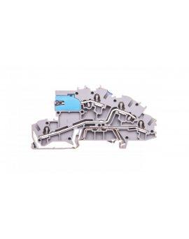 Złączka szynowa 3-pietrowa 2, 5mm2 NT/L/PE szara 2003-7641 TOPJOBS