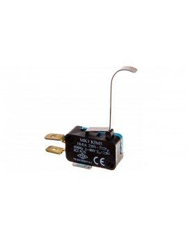 Wyłącznik krańcowy miniaturowy 1CO dźwignia długa podgięta T0-MK1KIM5