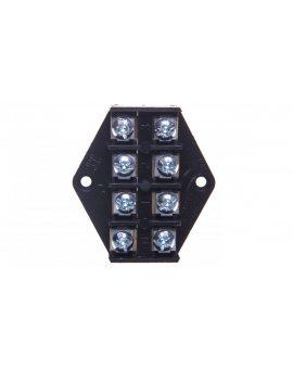 Płytka odgałęźna ZPT/2, 5mm2/4-tory czarna ZPT 4-2.5 83001007