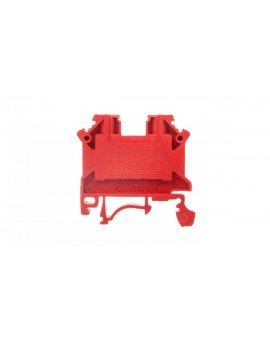 Złączka szynowa 2-przewodowa 2, 5mm2 czerwona NOWA ZSG1-2.5Nc 11221311