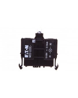 Oprawka z LED biała 12-30V AC/DC M22-LEDC-W 216560