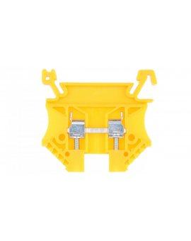 Złączka szynowa 2-przewodowa 2, 5mm2 żółta EURO 43408N