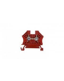 Złączka szynowa 2-przewodowa 2, 5mm2 czerwona EURO 43408RD