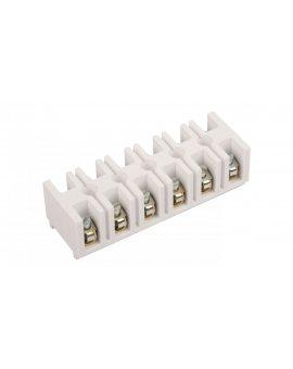 Listwa zaciskowa gwintowa 6-torowa 10mm2 biała LTE 6-10.0 25526406