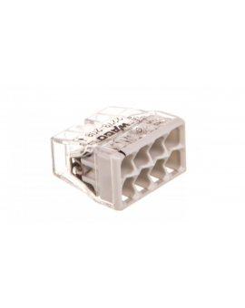 Szybkozłączka 8x 0, 5-2, 5mm2 transparentna/jasnoszara 2273-208 /blister 10szt/ 2273-208/996-010