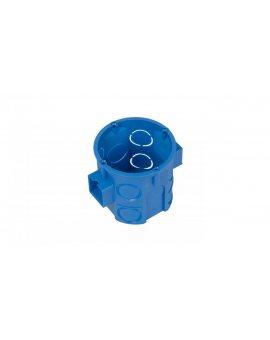 Puszka podtynkowa 60mm głęboka niebieska S60D 34057203