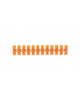 Złączka zaciskowa 15-torowa 2, 5mm2 24A pomarańczowa lz-25 LZ-25MM00-00