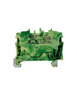 Złączka szynowa ochronna 1, 5mm2 żółto-zielona 2001-1207 TOPJOBS