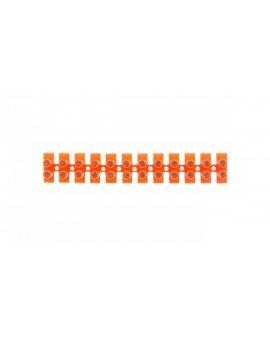 Złączka zaciskowa 21-torowa 6mm2 41A pomarańczowa lz-60 LZ-60MM00-00