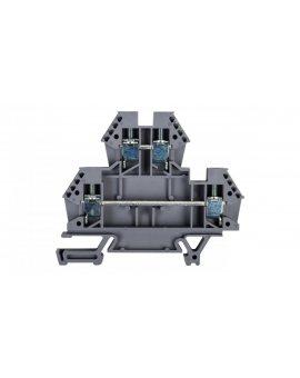 Złączka piętrowa 4mm2 szara 43550