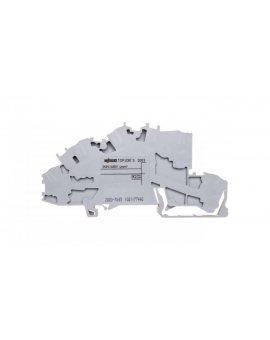 Złączka szynowa 3-pietrowa 2, 5mm2 L/L/PE szara 2003-7645 TOPJOBS