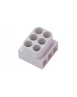 Listwa zaciskowa gwintowa 3-torowa 2.5mm2 biała LTE 3-2.5 25213406