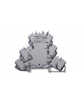 Złączka szynowa 3-piętrowa 2, 5mm2 szara PE/N/L 2002-3217 TOPJOBS