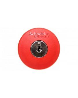 Napęd przycisku grzybkowego czerwony z kluczykiem ZB5AS944