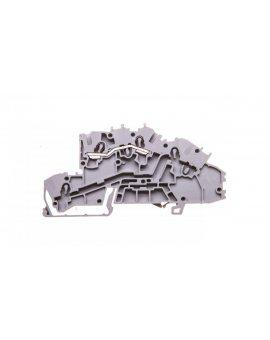 Złączka szynowa 1-pietrowa 2, 5mm2 L szara 2003-7650 TOPJOBS