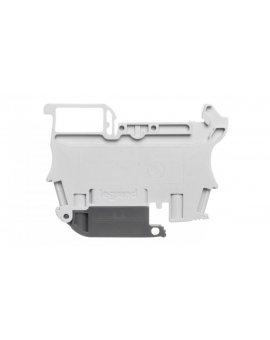 Złączka bezpiecznikowa 2, 5mm2 szary 6.3A G 5x20 mm DIN 35mm 037181