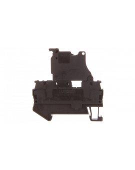 Złączka sprężynowa z bezpiecznikiem 5x20mm 2-przewodowa 0, 08-6mm2 czarna ST 4-HESI (5x20) 3036369
