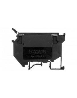 Listwa zaciskowa bezpiecznikowa 0, 2-4mm2 5x20/5x25/5x30mm czarna UK5 HESI 3004100