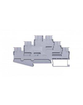 Złączka szynowa 3-piętrowa 0, 14-4mm2 szara PT 2, 5-3L 3210499
