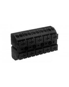 Blok zasilający 5-torowy czarny 862-505